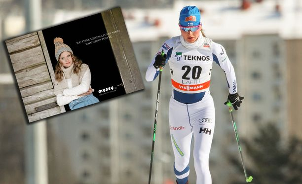 Johanna Matintalo on viihtynyt myös muotikuvauksissa.