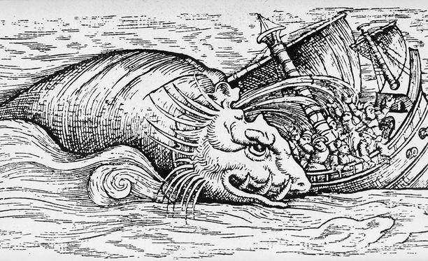 Legendaarinen Kraken on piinannut merenkävijöitä vuosisatoja pohjoisilla vesillä.