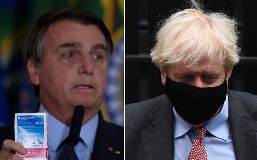 Nämäkin valtionjohtajat ovat sairastaneet koronan – Johnsonin ja Bolsonaron suosio ampaisi ylimmilleen sairastumisen jälkeen