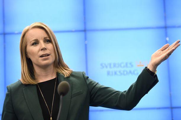 Annie Lööf on seuraava hallitustunnustelija.
