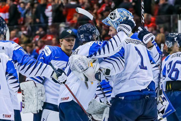 Juhliiko Suomi myös Sveitsiä vastaan välierässä?