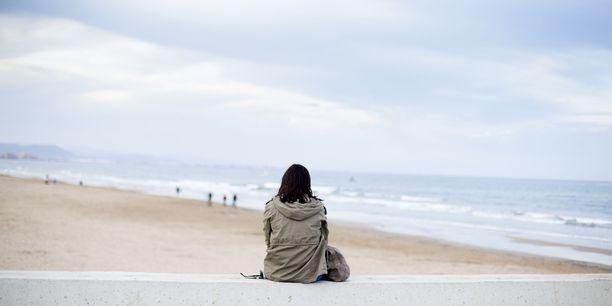 Yksin matkaava joutuu kamppailemaan yksinäisyyden kanssa.