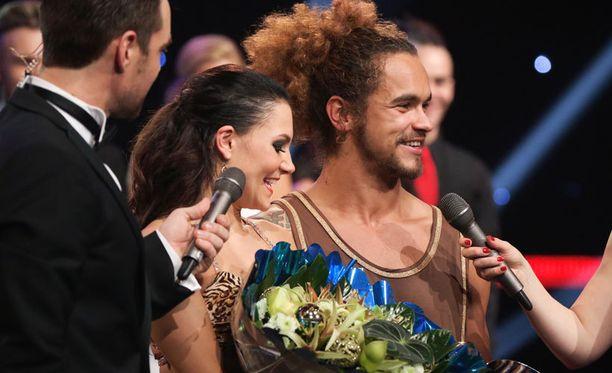 Pete Parkkonen on Suomen Tanssii tähtien kanssa -historian kolmas miesvoittaja.