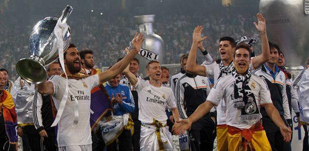Real Madrid juhli viime kaudella Mestarien liigan voittoa.