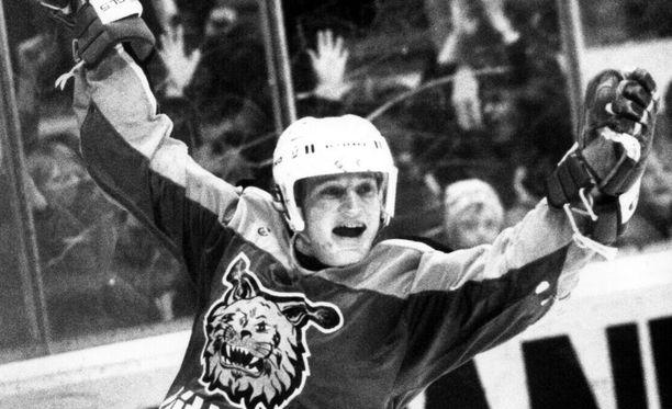 Risto Jalo on Ilveksen legendoja. Hän oli pääroolissa vuoden 1985 Suomen mestaruuden voittaneessa porukassa.
