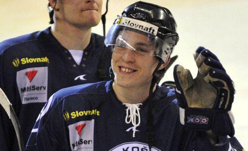 Ladislav Scurko kuvattuna HC Kosicen paidassa vuonna 2008.