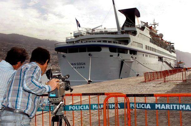 Brittinaisen laiva lähti Funchalin satamasta Madeiralta. Arkistokuva.