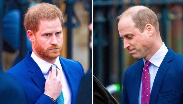 Prinssi Harryn ja prinssi Williamin välien kerrotaan lähentyneen kuluneena keväänä.