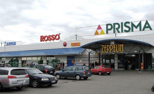 Zeppelinin kauppakeskuksen Prisma Kempeleessä on toistaiseksi suljettuna.