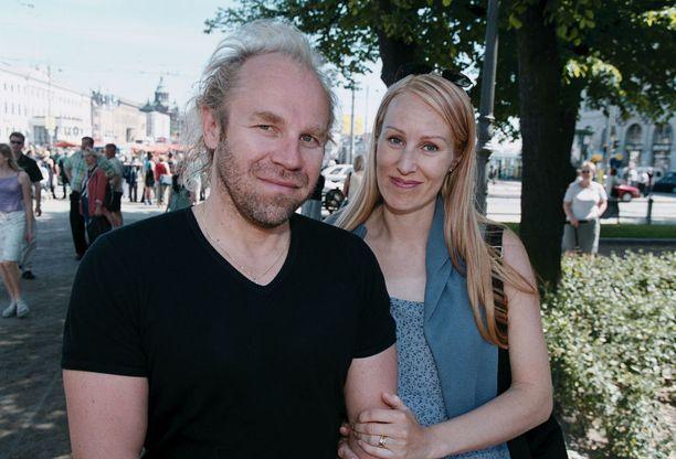 Jussi Parviainen ja Satu Ruotsalainen kesällä 2001.