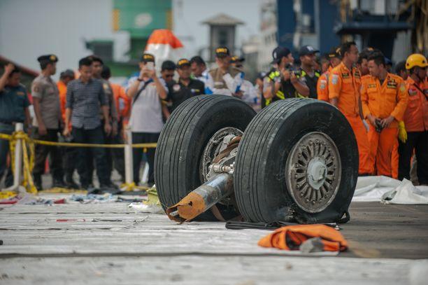 Lion Airin lento JT610 putosi mereen pian noustuaan Jakartan lentokentältä 29. lokakuuta 2018.
