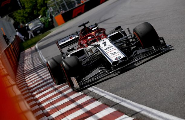 Kimi Räikkönen epäonnistui Kanadan GP:n aika-ajossa.