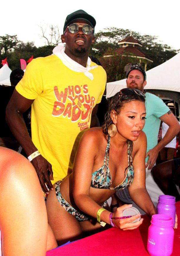 Keväällä Usain Bolt piipahti Trinidadissa festivaaleilla.