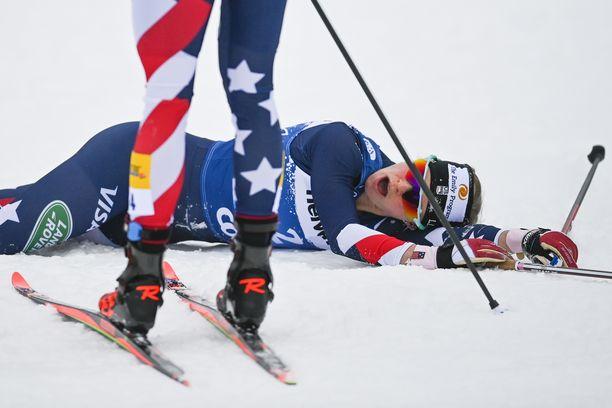Rosie Brennan romahti Tour de Skillä.