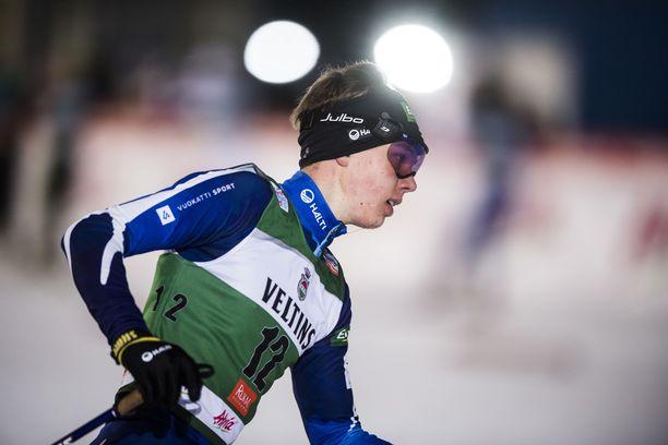 Arttu Mäkiaho oli lauantain paras suomalainen Otepäässä. Arkistokuva.