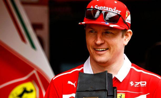 Kimi Räikkönen oli talvitestien nopein kuljettaja Espanjassa.