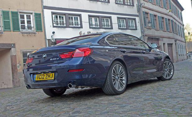 6-sarjan Gran Coupén hinnat alkaen -mallissakin on reilun 123 000 euron hintalappu.