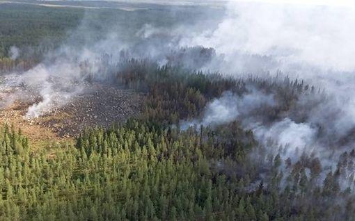 Suuri helpotus Kalajoen metsäpaloihin: vihdoin sadetta! – Tämä on tilanne nyt
