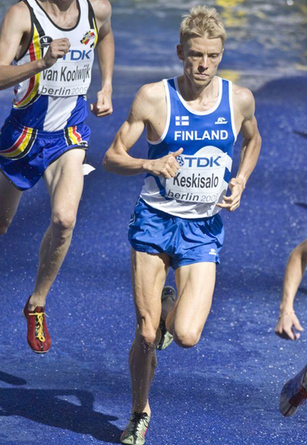 Jukka Keskisalo kamppaili itsensä finaaliin.