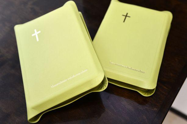 Eduskunnan raamatturyhmä anoi 1 500 euron toiminta-avustusta, mutta joutui tyytymään 300 euroon.