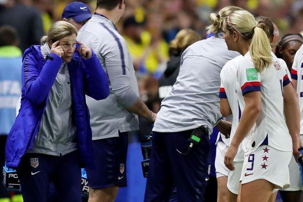 Jill Ellis on käyttänyt vaihtojaan varsin viisaasti MM-kisoissa.