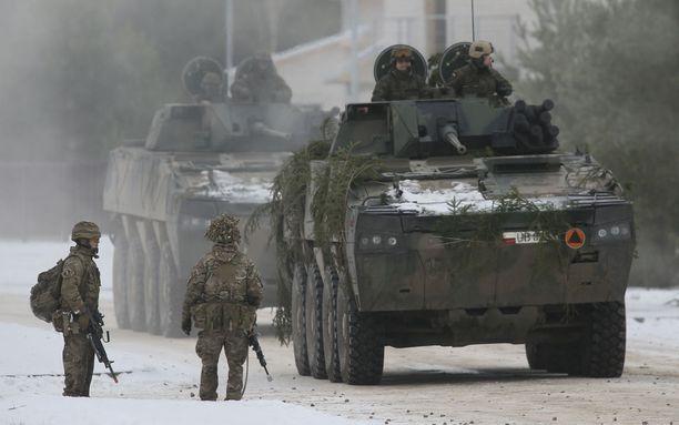 Nato on tuonut joukkonsa Itä-Eurooppaan, mikä on närästänyt Venäjää pahemman kerran.