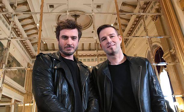 Tämä kaksikko lähtee Euroviisuihin: Sebastian Rejman ja Darude.