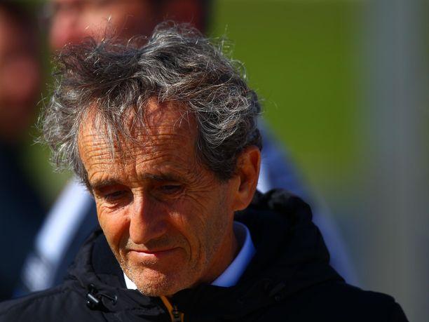 Alain Prost toimii tällä hetkellä Renault'in konsulttina. Mies voitti urallaan peräti neljä kertaa F1:en maailmanmestaruuden.