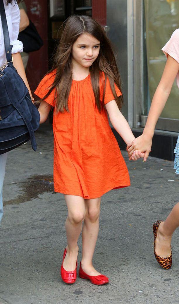 Tom Cruisen ja Katie Holmesin tytär Suri (6) on ehkä Hollywoodin seuratuin ja muodikkain lapsi.