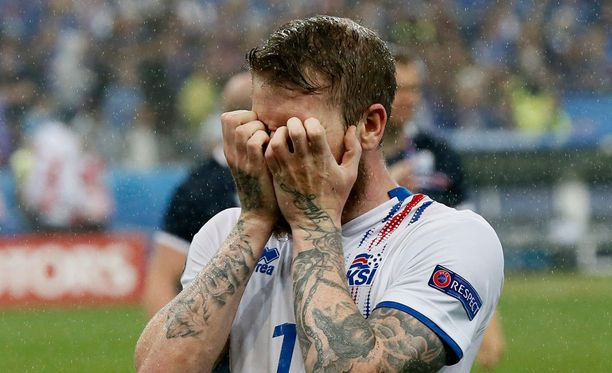 Islannin tuhkimotarina EM-kisoissa päättyi sunnuntaina.