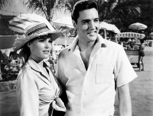 Elvis filmasi elokuvaa Acapulcossa 1950-luvulla.