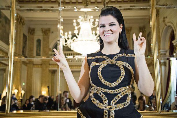 Saara Aalto valittiin ilman äänestystä Suomen euroviisuedustajaksi.
