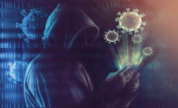 Hakkerit ovat hyödyntäneet koronapandemiaa.