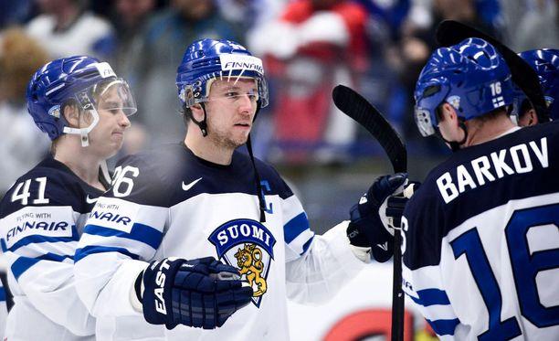 Jussi Jokisen ja Aleksander Barkovin yhteispeli toimii.