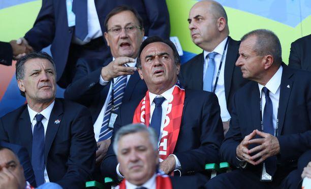 Zdravko Mamić on saanut joidenkin kroatialaiskannattajien vihat niskoilleen.