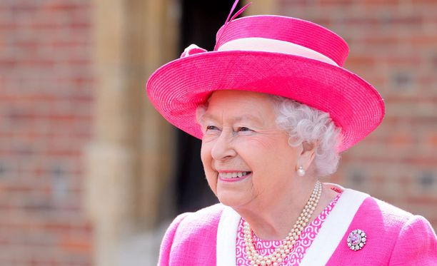 Kuningatar Elisabet II jää toiseksi.