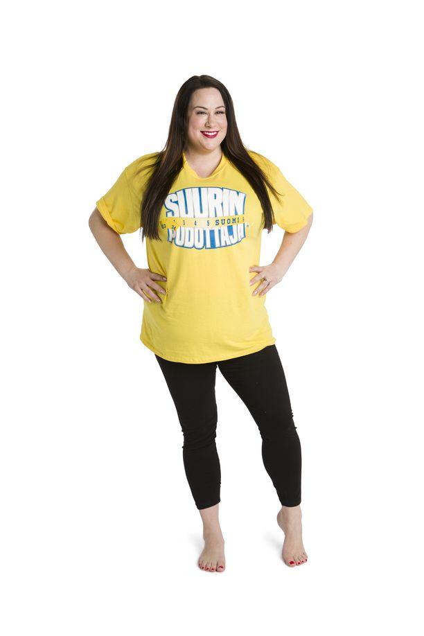 Niina Kuhta tunnetaan Miss Plus Size -kilpailun voittajana.