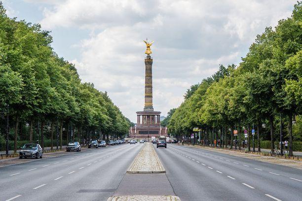 Siegessäule on Saksan yhdistymissotien kunniaksi 1800-luvulla pystytetty muistomerkki.