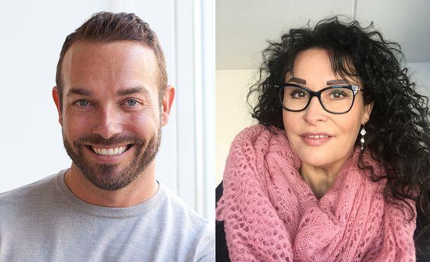 Tomi Kouvola ja Katja Piirainen ovat televisio-ohjelmissa esiintyneitä sisustussuunnittelijoita.