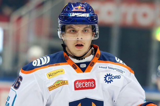 Sami Moilanen oli voittamassa Suomelle nuorten MM-kultaa vuodenvaihteessa Kanadassa.