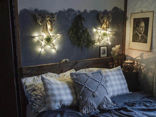 Valot ovat iso osa Virpin kodin sisustusta. Hän myös satsaa laadukkaisiin materiaaleihin.