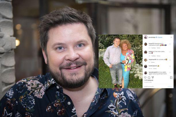 Janne Kataja ja Anita Hirvonen ovat olleet ystäviä pitkään.
