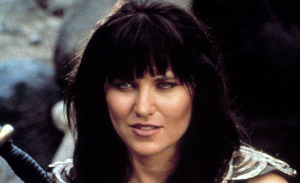 Lucy Lawless nähtiin Xenan roolissa vuosina 1995-2001.