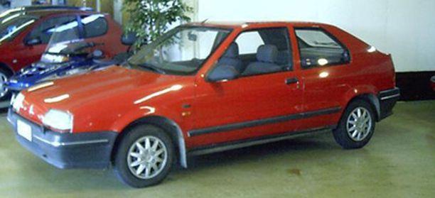 Tällaisen Renaultin epäillään liittyvän viikonloppuna tapahtuneeseen surmaan.