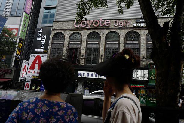 Onnettomuus sattui suositussa Coyote Ugly -yökerhossa Etelä-Korean Gwangjussa.
