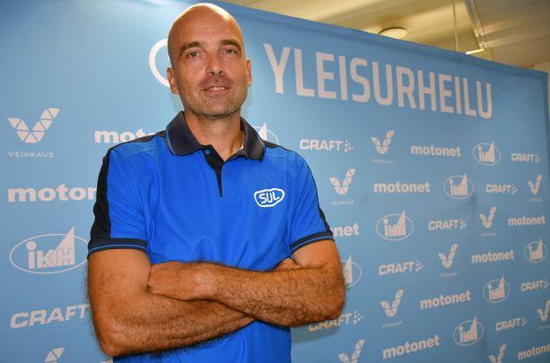 Jarkko Finni on Urheiluliiton uusi valmennuksen ja koulutuksen johtaja.