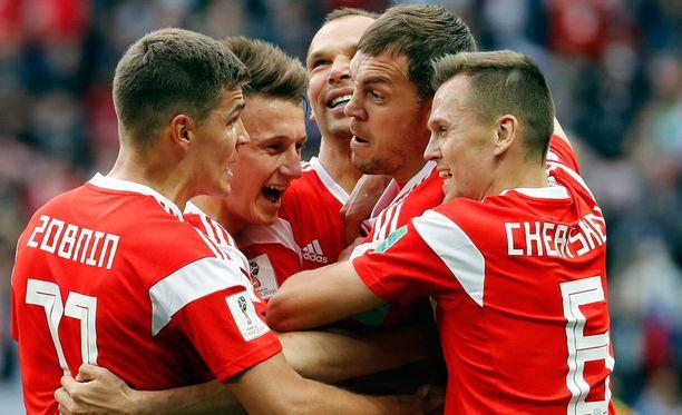 Venäjä juhli 5-0-voittoa Saudi-Arabiasta, mutta se ei vielä kerro mitään joukkueen todellisesta iskukyvystä.
