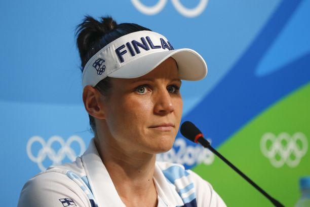 Mira Potkonen nyrkkeili pronssille Rion olympialaisissa.