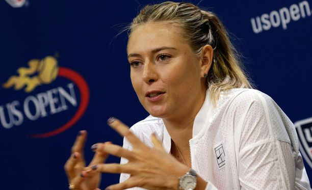 Maria Sharapova voitti U.S. Openin vuonna 2006.