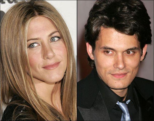 Jennifer Aniston ja John Mayer eivät ole myöntäneet suhdetta, mutta eivät myöskään peitä rakkauttaan.